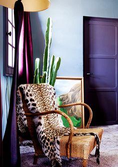 House in the 16th arrondissement of Paris, designed by interior designer Elodie Sire of D.Mesure