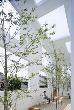 Japanese Architecture in OIta, Japan, by Sou Fujimoto Architects #outdoor #patio