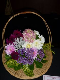A basket of flowers - Preston Autumn show 2015