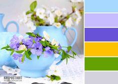Удачное сочетание цветов в интерьере: таблица как инструмент правильного подбора