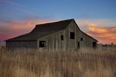 Christian Begeman snapped this Meade County barn at sunset.