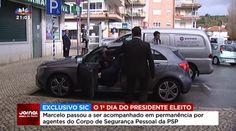 Marcelo Rebelo de Sousa conduz sem cinto e estaciona em lugar de deficientes - NaBorga