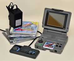 PC Engine LT has a built in screen.