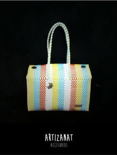 Vámonos de día de campo! Pero no debes olvidar tu bolso a la moda, hecho por manos mexicanas.