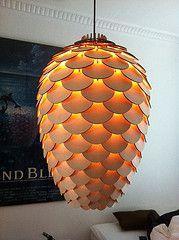 Bæredygtigt design: Pinecone lamp