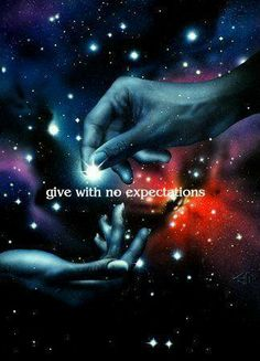 Give with no expectations
