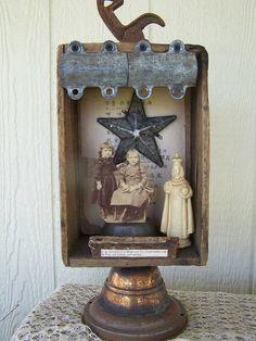 vintage girls shrine
