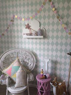 Twins room - Girls room - love