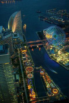 YOKOHAMA AMUSEMENT Park, Tokyo City & Architecture
