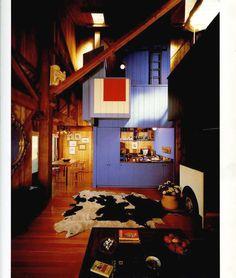 Sea Ranch | MLTW. Sea Ranch, California  1965 Architecture Program, Wood Architecture, Sea Ranch California, 1960s House, Wood Interiors, Cow Hide Rug, Retro Futurism, Coastal Style, Beautiful Space