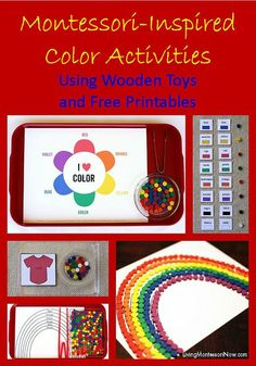 Montessori Monday - Montessori-Inspired Sphere, Cube, Cylinder Activities {Free Printables}