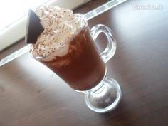 recipe for hot chocolate♥ (in - slovak) Hot Chocolate, Ham, Mason Jars, Mugs, Drinks, Tableware, Sweet, Recipes, Food