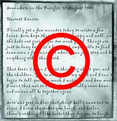 Copyright and the lost letters | The Legal Genealogist