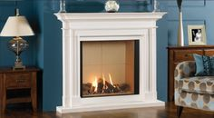 Balanced flue gas fires are amongst the most efficient as they are for use with a sealed flue and therefore there are no draughts into the room...