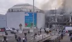 Attacks on Brussels airport, kill around 20, wound 55 - Belgian media
