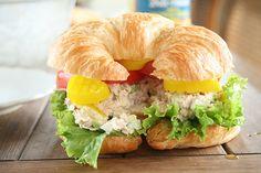 yummy tuna salad sandwich