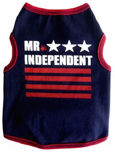 Great for all things Patriotic! This tank is made of soft cotton with a hint of lycra for a great fit.   Machine Washable and Made in the U.S.A.!
