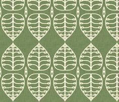 green_leaf fabric by holli_zollinger on Spoonflower - custom fabric