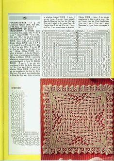 Kira scheme crochet: Scheme crochet no. Crochet Motif Patterns, Crochet Blocks, Crochet Diagram, Crochet Chart, Crochet Squares, Thread Crochet, Crochet Granny, Filet Crochet, Stitch Patterns