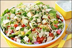 Hungry Girl's Chop-tastic Chicken Fiesta Salad