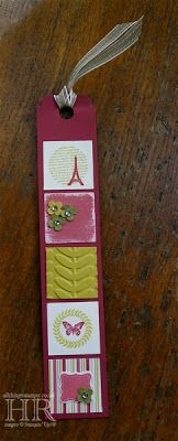 Collage Curios bookmark--so cute.  @Corinne Frank Noey-Thacker-Helene Smith.  It's time!