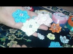 How to flower of lace strips