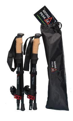 2Pcs Plastic Walking Stick Buckle Trekking Pole Accessories Connection BuckB xd