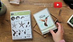ARTISTIC STAMPING  TECHNIQUE VIDEO TUTORIAL  WITH PICTURE PERFECT STAMPIN' UP!