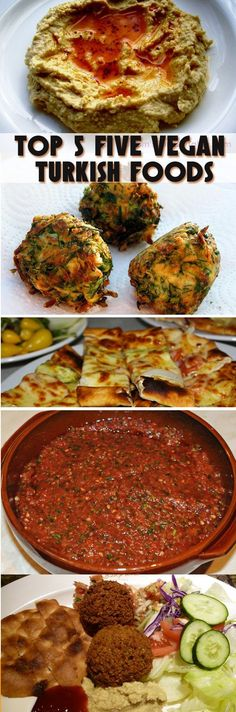Top Five Vegan Turkish Food- I'm not vegetarian but this is great for nights that I don't feel like messing with meat bc it grosses me out lol!