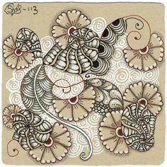 Renaissance Tiles - Tangle Studio Stefanie