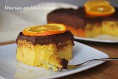 Marisa en la Cocina: Pastelitos de Naranja y Chocolate