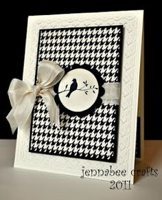 Extremely simple card from Jennabee Crafts