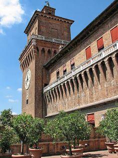 Castello Estense  Ferrara, Italy, province of Ferrara , Emilia Romagna