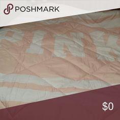 Not for sale Other side of bed in bag leopard PINK set PINK Victoria's Secret Other