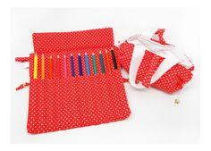 Kit escolar: estojo + toalhinha de mão *