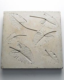 Leaf-Embossed Tabletop Mold