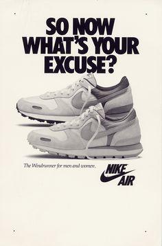pretty nice 8928f f4540 Nike Air Windrunner 1986 Ad Será que existe uma linha vintage desse tenis