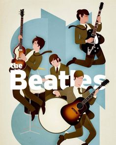 Illustrated Gents — kerinjo: Self initiated Beatles illustration . Listen To The Beatles, The Beatles 1, Beatles Art, Beatles Photos, Beatles Museum, Illustration Tumblr, Illustrations, Ringo Starr, Paul Mccartney