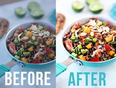 A step by step tutorial to edit food photos in Photoshop. Take a drab, dull food image and take it the next level so it looks as delicious as it should!