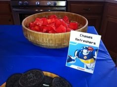 Greyson's Transformers: Rescue Bots Party!   The Life Rearranged