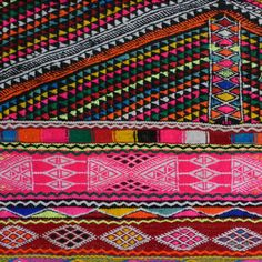 tichtach - en kreativ logbog: Kelim - neon og mønstre