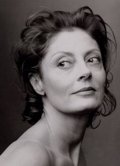 """I look forward to being older, when what you look like becomes less and less an issue and what you are is the point.""  (Susan Sarandon)"