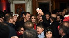 In stark contrast with Barack Hussein Obama, Syrian President Bashar Assad does care about Christians A Christmas choir had a surprise visitor overnight after Bashar Assad made an appearance at a church in the Syrian capital of Damascus where rehearsals were taking place. The Syrian president and his wife, Asma, visited the Notre Dame de Damas Church, an ancient cathedral located just 2 kilometers from http://globalpolitics.rubben.be/2015/12/12498/in-stark-contrast-with-