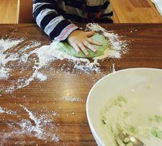 Easy Homemade Playdough (No cook!)