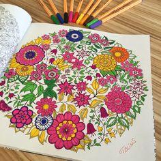 #tulins ✌️#secretgarden #johannabasford