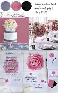 Blush and slate...and possibly appricot...our wedding colors