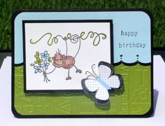 Happy Birthday Launa! by meggymoo - Cards and Paper Crafts at Splitcoaststampers. Y