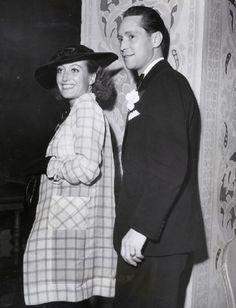 Joan Crawford & Franchot Tone