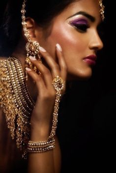 pretty traditional south asian jewelary