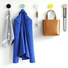 top3 by design - DesignByThem - dial hanger with hook blue